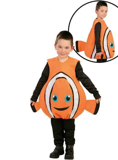 Klovnefisk kostume til små børn