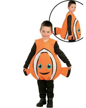 Costum de pește clovn pentru copii