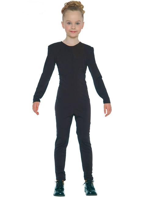 Black Jersey for Girls