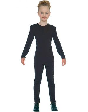 Schwarzer Overall für Mädchen