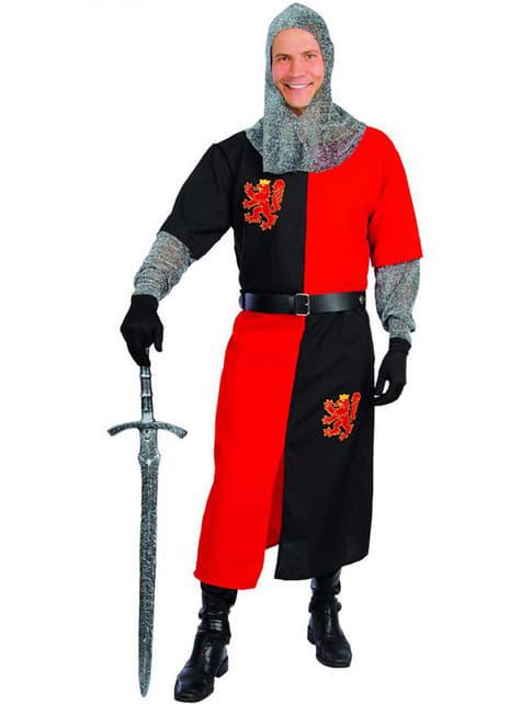 Middelalder Ridder Kostyme