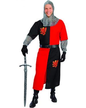 Keskiaikainen ritarin asu