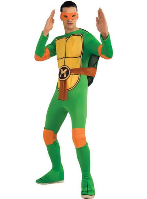 Ninja Turtles Mikey Adult Costume