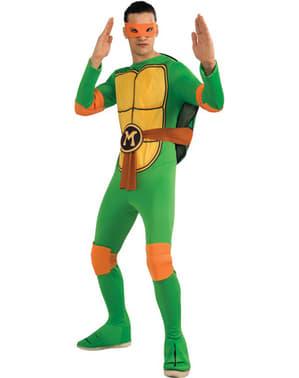 Klassisk Ninja Turtles Mikey Kostyme Voksen