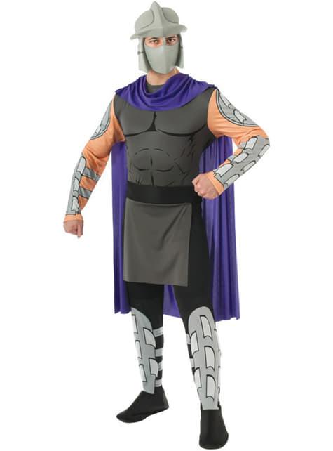 Klassisk Ninja Turtles Shredder Kostyme Voksen