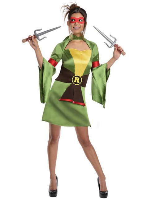 Dámský kostým sexy Ralph (Želvy ninja) klasický
