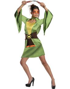 Disfraz de Mikey sexy Tortugas Ninja classic
