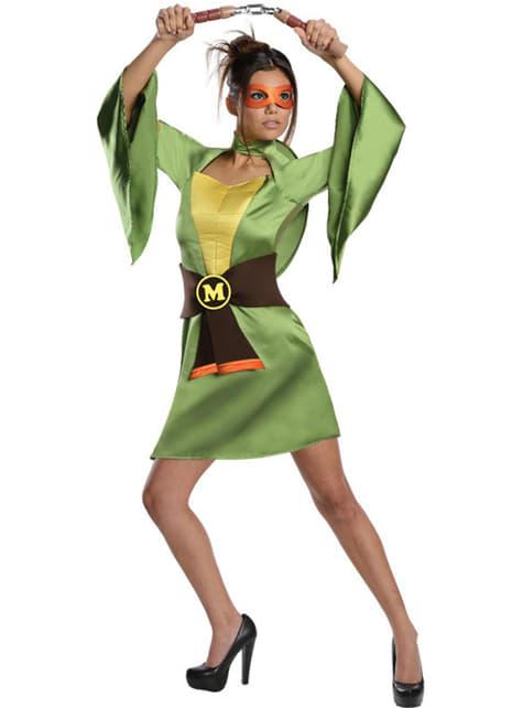Costum Mikey sexy Țestoasele Ninja classic