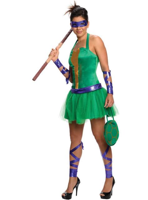 Disfraz de Donatello de las Tortugas Ninja para mujer