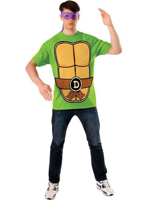 Zestaw Żółwie Ninja Donatello męski