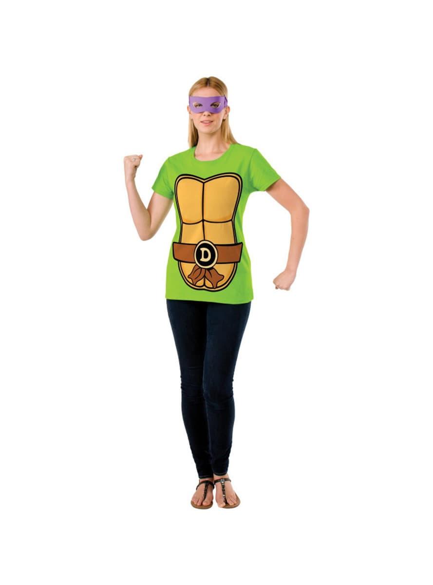 donatello ninja turtles set f r damen f r kost m funidelia. Black Bedroom Furniture Sets. Home Design Ideas
