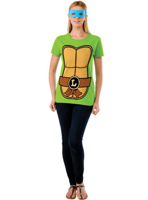 Kit de Tortuga Ninja Leonardo para mujer