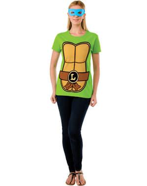 Ninja Turtles Kit Kostum Leonardo Wanita