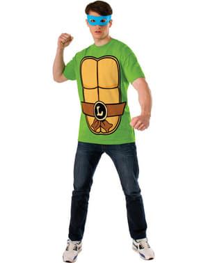 Костюм взрослого костюма Леонардо Черепашек ниндзя