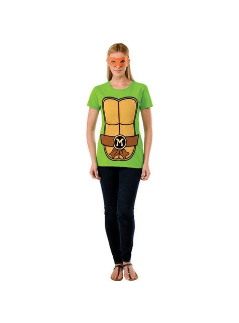 Zestaw Żółwie Ninja Michelangelo damski