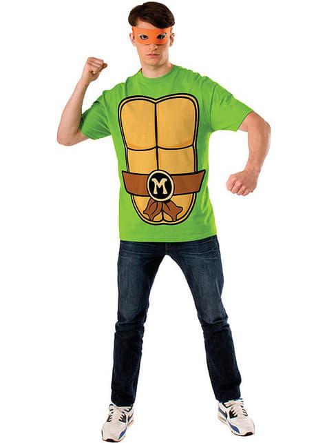Kit de Tortuga Ninja Michelangelo para hombre