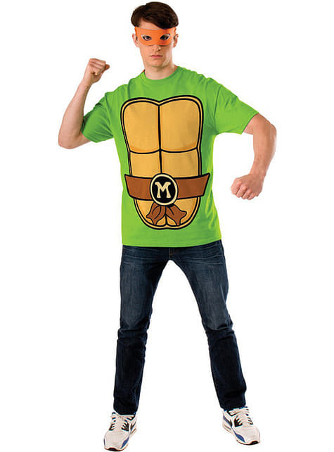Zestaw Żołw Ninja Michelangelo męski
