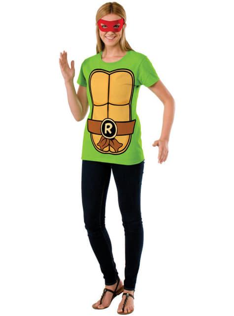 Kit de Tortuga Ninja Raphael para mujer