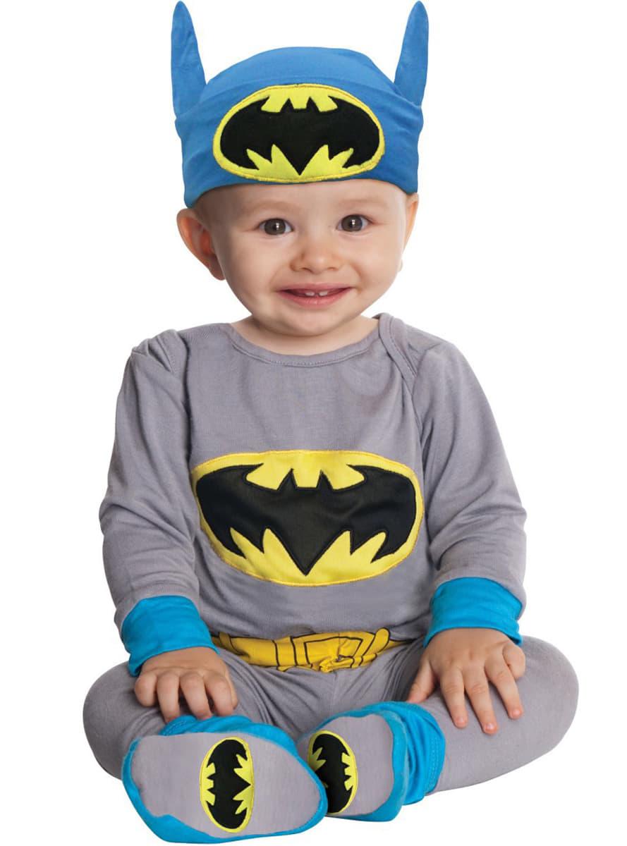Bardzo dobryFantastyczny Stroje Batman dla niemowląt. Uroczy Batman & Robin | Funidelia RG01