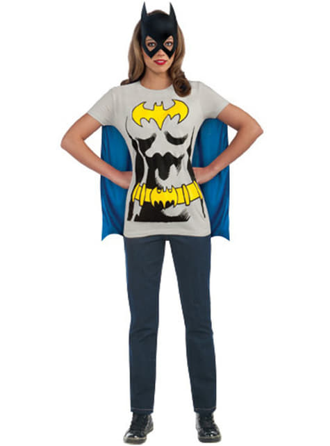 Kit disfraz Batgirl para mujer