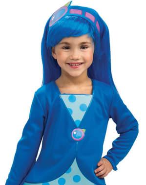 Mansikka Marja Blueberry Muffin lasten peruukki