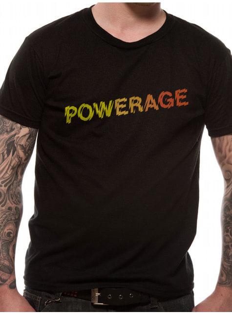 AC/DC Powerage Logo Unisex T-Skjorte til Voksne