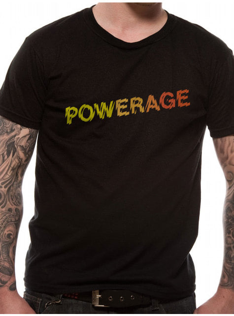 Camiseta AC/DC Powerage Logo para adulto Unisex