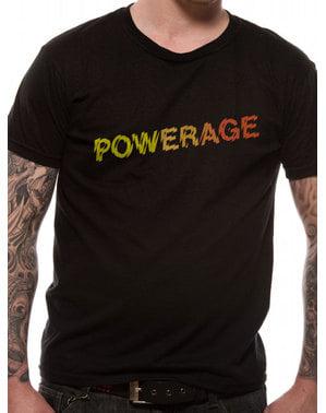 Лого на AC / DC Powerage Унисекс тениска за възрастни