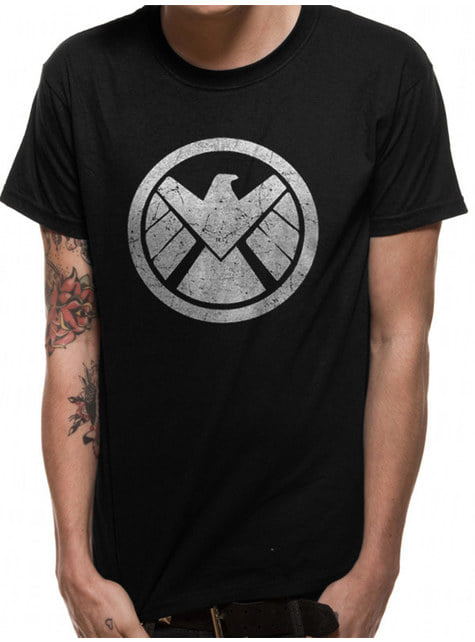 Avengers: Infinity War Shield Icon T-Shirt for Men