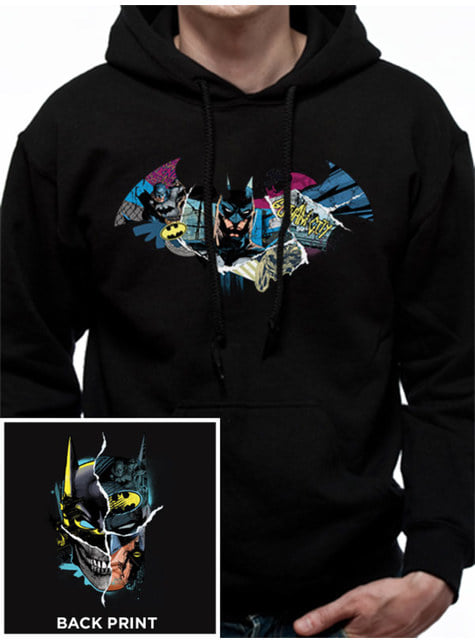 Gotham Face hoodie for adults - Batman