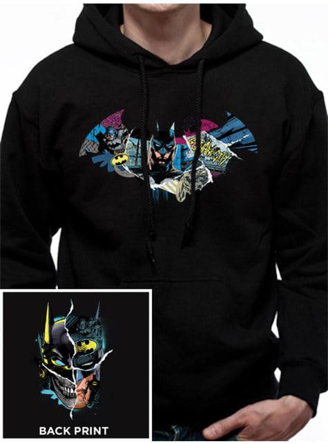 Sudadera Gotham Face para adulto - Batman