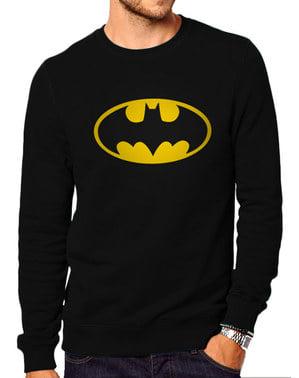 Sweatshirt Batman Classic Logga vuxen – DC Comics