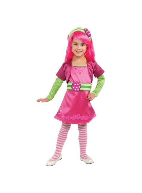 Kostium Malinka Truskawkowe Ciastko dla dziewczynki