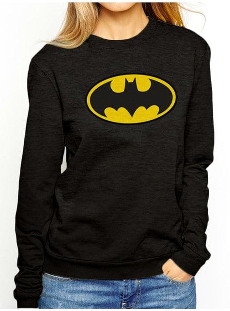 Batman Klassisk logo sweatshirt til kvinder - DC Comics