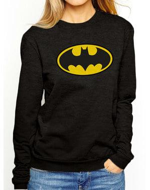 Batman Classic Logo Sweatshirt für Damen - DC Comics