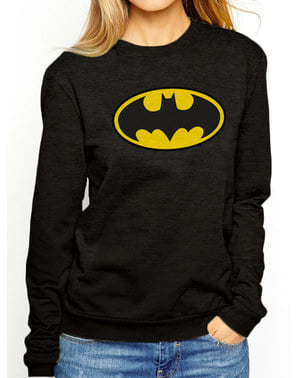 女性用バットマンクラシックロゴスウェットシャツ -  DCコミックス