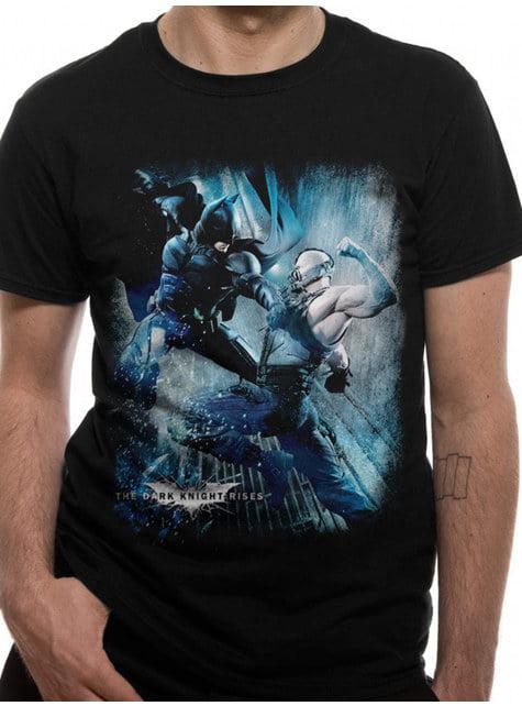 Batman vs Bane T-Skjorte til Menn - The Dark Knight Rises