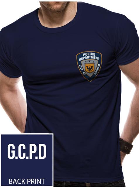 T-shirt de Batman Gotham Police para homem