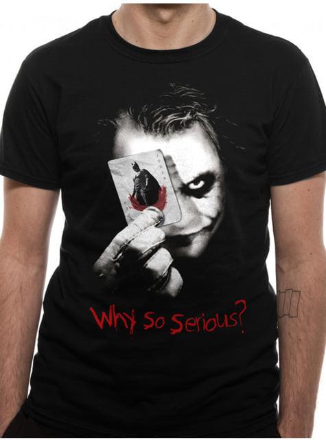 Camiseta Joker Why So Serious para hombre