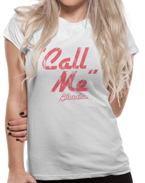 T-shirt Blondie Call Me dam