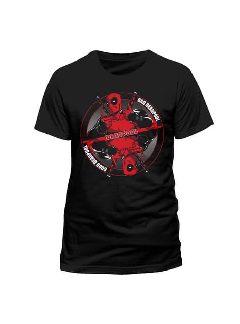 Deadpool Bad Good T-Shirt for Men