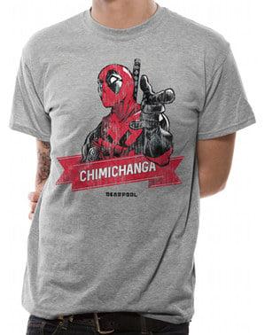 Erkekler için Deadpool Chimichanga Noktası Tişört