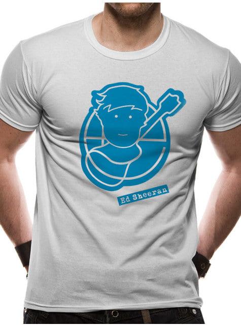 Ed Sheeran Logo Unisex T-Skjorte til Voksne