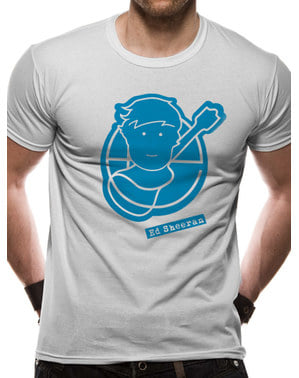 T-shirt Logo Ed Sheeran para adulto Unissexo