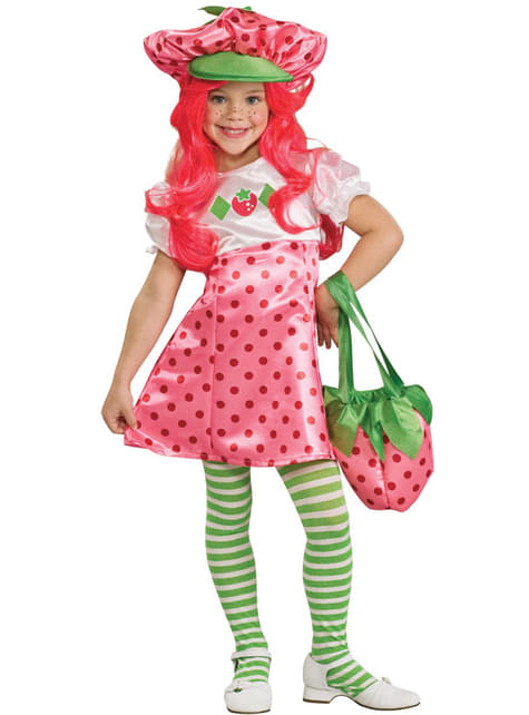 Strawberry Shortcake deluxe Kostuum voor meisjes