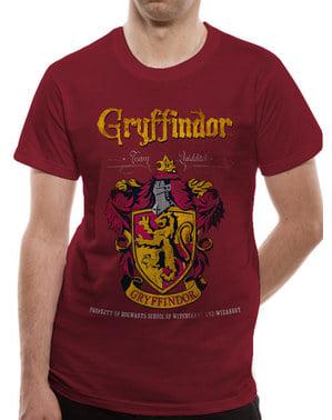 वयस्कों के लिए ग्रिफ़िंडर क्विडिच टी-शर्ट - हैरी पॉटर