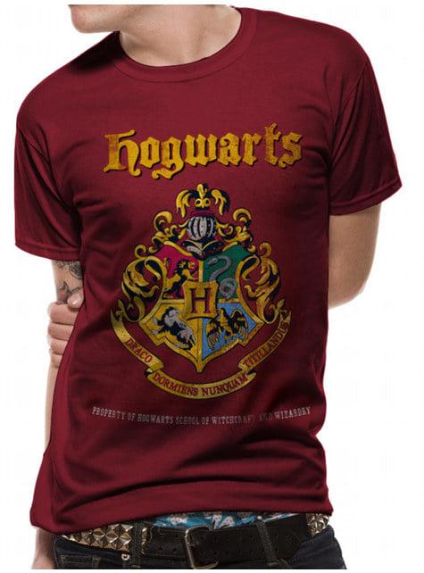 Hogwarts Crest T-shirt for adults - Harry Potter