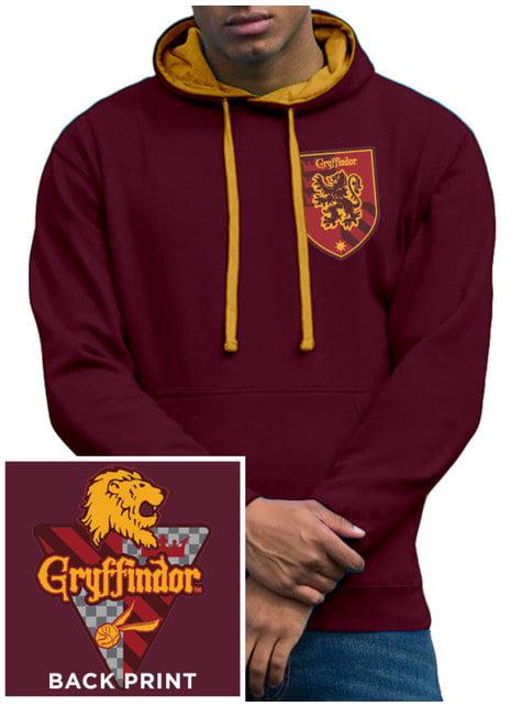 Gryffindor Hoodie for Men in Maroon - Harry Potter