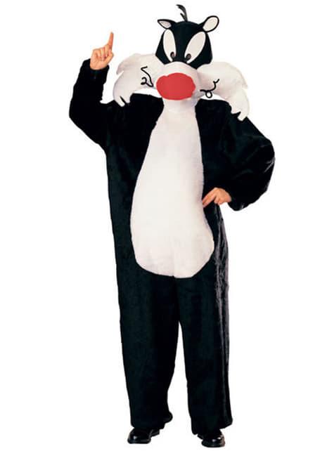 Looney Tunes Sylvester Kostyme Voksen