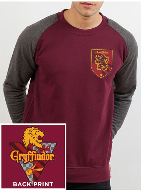 Sweatshirt Gryffindor para homem - Harry Potter